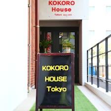 Perfil de usuario de Kokoro House Tokyo