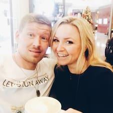 Marina & Denis Brugerprofil