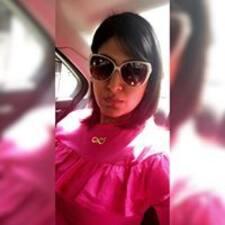 Deepa felhasználói profilja