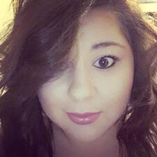 Alayna felhasználói profilja