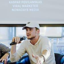 โพรไฟล์ผู้ใช้ Kaspar