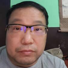 Sangjin felhasználói profilja