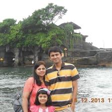 Aashka felhasználói profilja