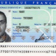 โพรไฟล์ผู้ใช้ Thierry