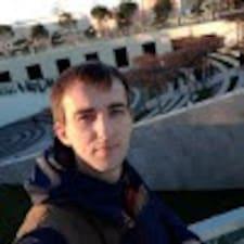 Daniil felhasználói profilja