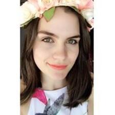 Kimberley felhasználói profilja