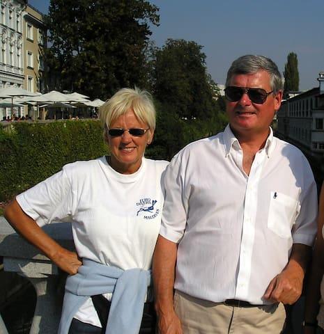 Sheila & James