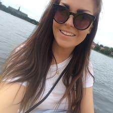 Stine Kvigne felhasználói profilja