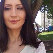 Användarprofil för Vesna