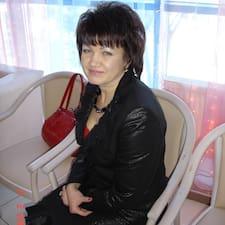 Gebruikersprofiel Валентина