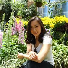 Arisa felhasználói profilja