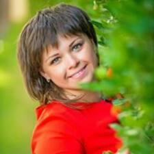 Mariya felhasználói profilja