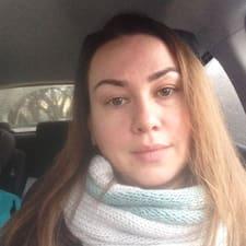 Henkilön Evgeniya käyttäjäprofiili