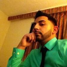 Jawid felhasználói profilja