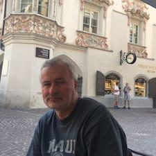 Piotr felhasználói profilja