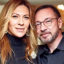 Perfil do utilizador de Vincent & Irina