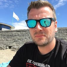Användarprofil för Stefan