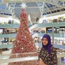 Rashida felhasználói profilja