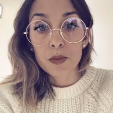Perfil do utilizador de Camila