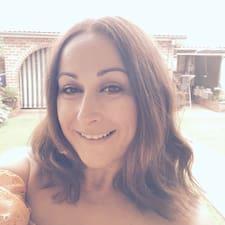 Lidija felhasználói profilja