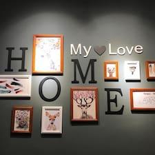 Homestay - Uživatelský profil