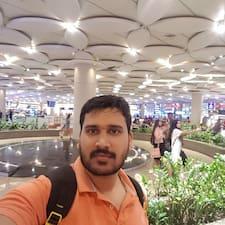 Rahul felhasználói profilja