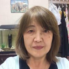 Perfil do utilizador de Keiko