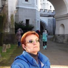 Profil utilisateur de Liudmila