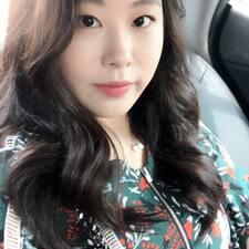 Jihyun felhasználói profilja