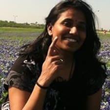 Användarprofil för Kavitha