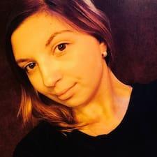 Perfil do utilizador de Oksana