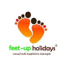 Feet-Up felhasználói profilja