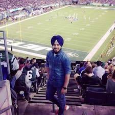 Notandalýsing Harmeet Singh