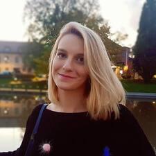 Emina felhasználói profilja