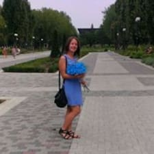 Antonina felhasználói profilja