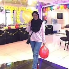 Nur Aina felhasználói profilja