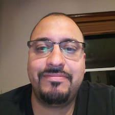 Tony felhasználói profilja