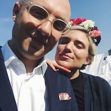 โพรไฟล์ผู้ใช้ Isak & Sanna