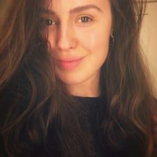 Karyna felhasználói profilja