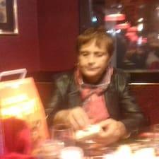 Andree felhasználói profilja