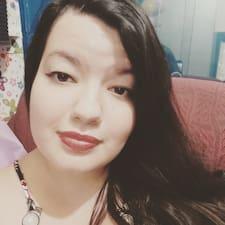 Priscila felhasználói profilja