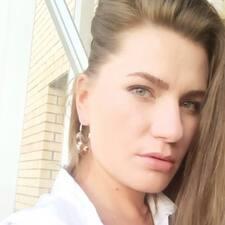 Pavlina felhasználói profilja