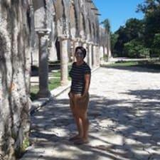 Maria José felhasználói profilja