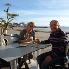 Bruno Avec Mon Épouse Jocelyne