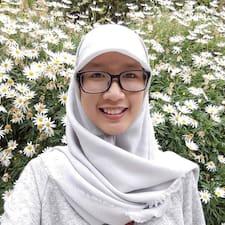 Profil utilisateur de Shalma Kurnia