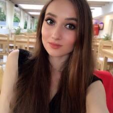 Perfil do utilizador de Oleksandra