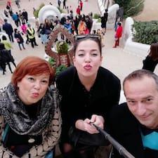 Alen, Dorina, Sandra Kullanıcı Profili