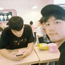 Seong Bin felhasználói profilja