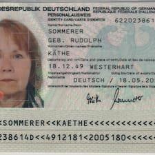 โพรไฟล์ผู้ใช้ Käthe