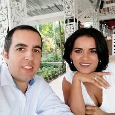 Maria Fernanda felhasználói profilja